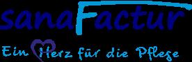 sanaFactur LogoSlogan Menu